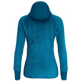 SALEWA Puez Warm PowerLite Sweat à capuche zippé Femme, blue sapphire